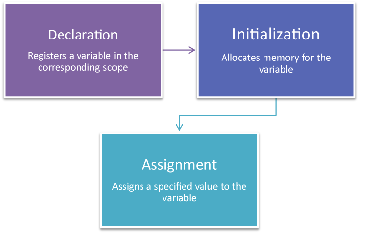 Variable lifecycle flowchart