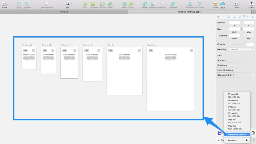 Creating responsive overviews in Auto Layout