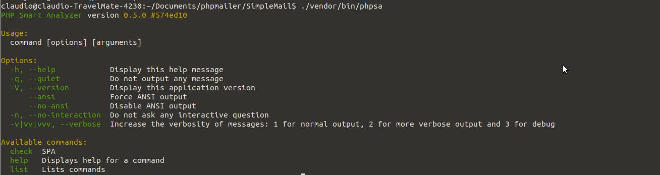 PHPSA options