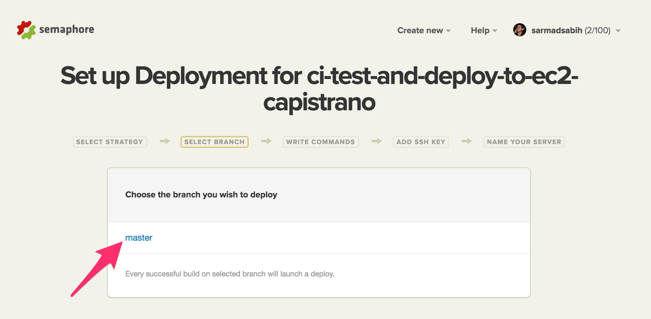 semaphore-deployment-branch