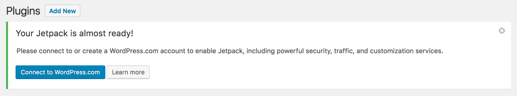 Jetpack is almost ready