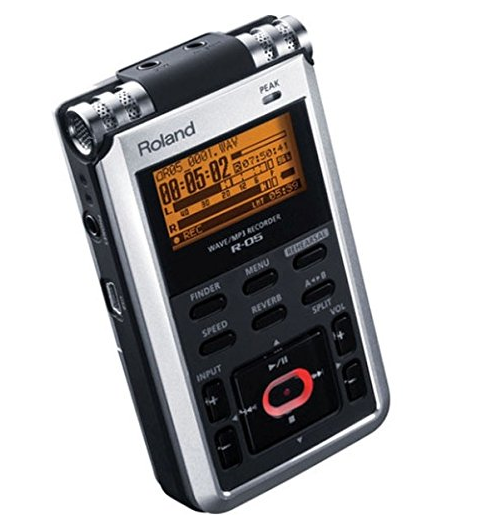 The Roland R-05 recorder