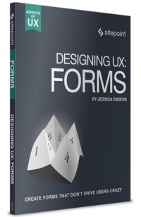 Designing UX Forms Book cover