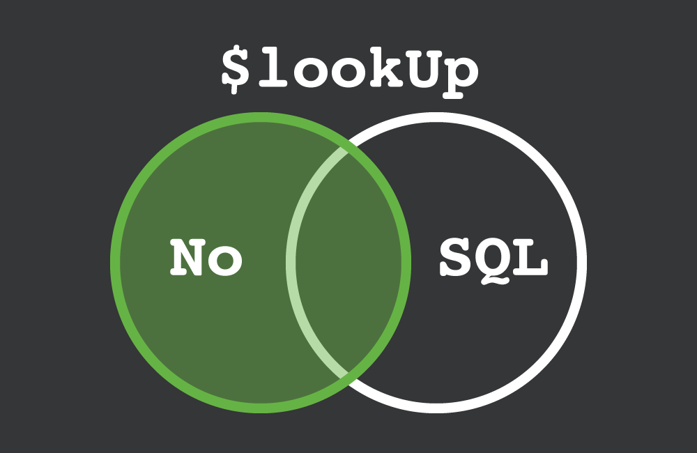 Using $lookUp with NoSQL
