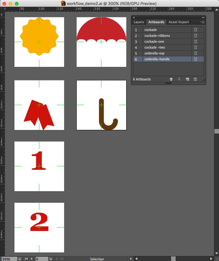 Illustrator artboard