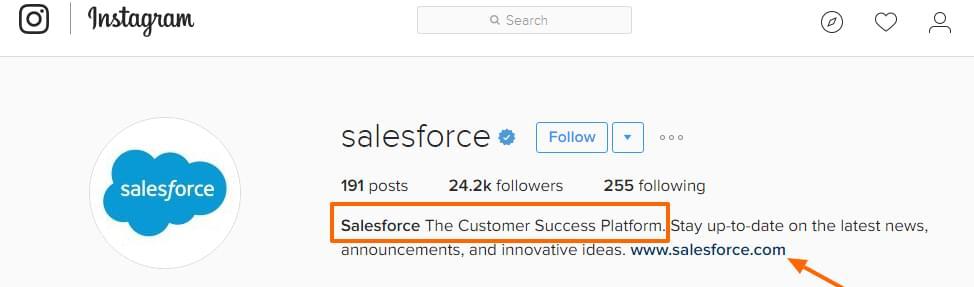 Salesforce on Instagram