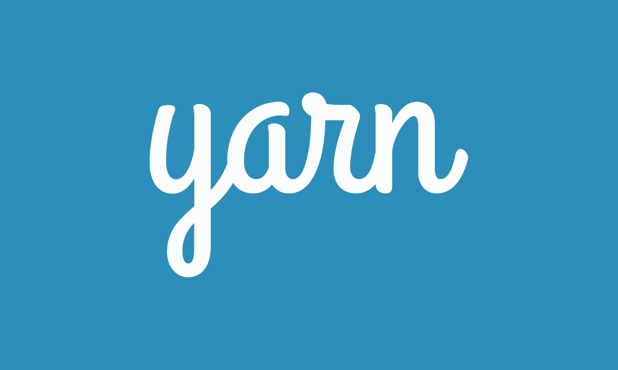 Yarn vs npm - Yarn logo