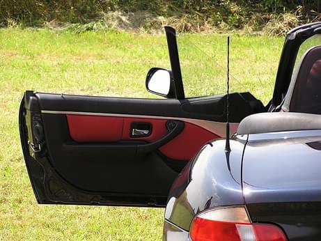 BMW car door