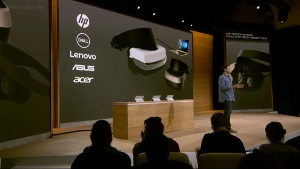Microsoft's announcement of the OEMs