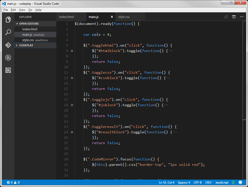 Visual Studio Code built in Electron