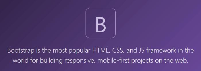 Bootstrap 4 logo