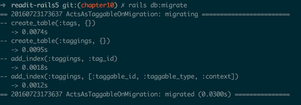 10-4. Applying the generated migration