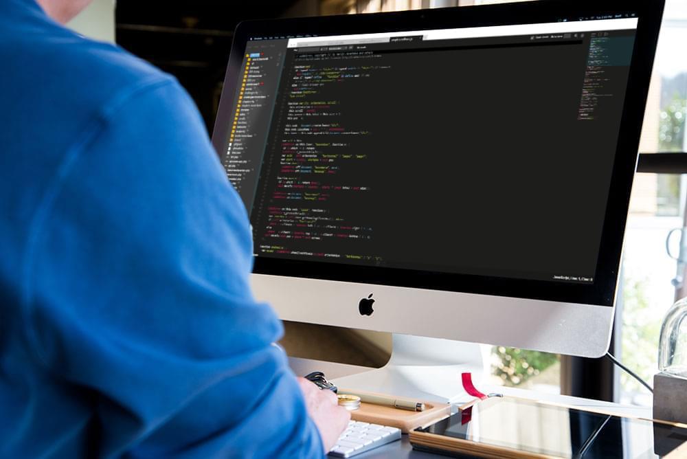 A developer using ICEcoder