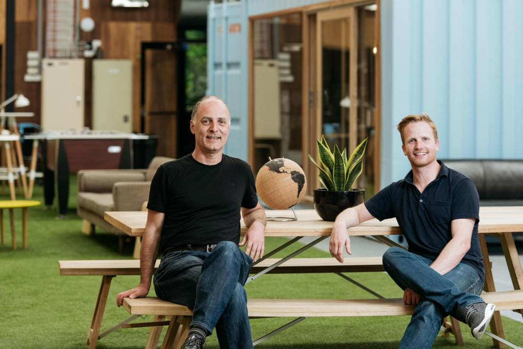 Influx Co-Founders: Leni Mayo (Left) and Michael de Wildt (Right). Credit: Influx