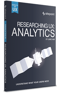 Research UX: Analytics