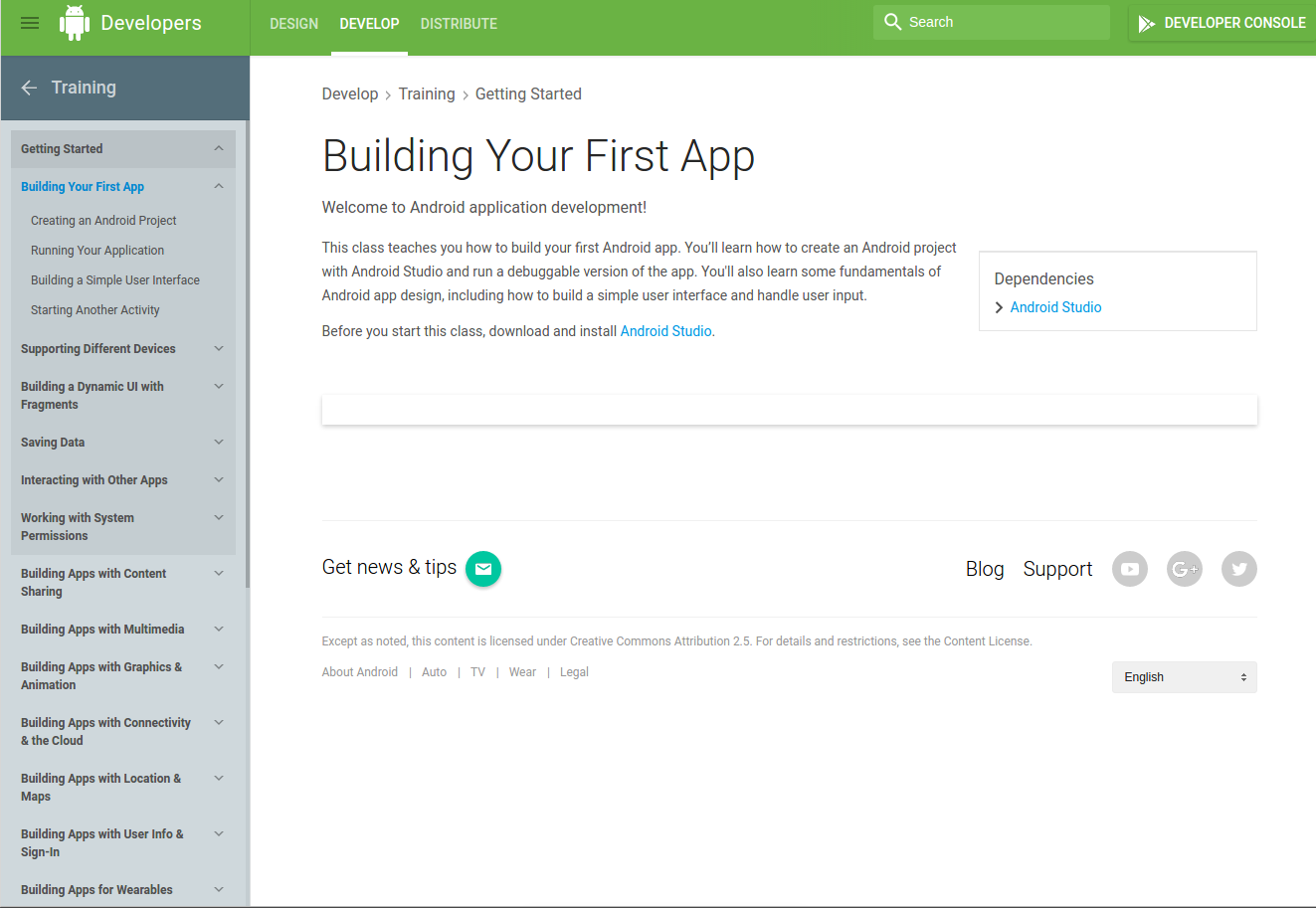 01 - Building Your First App