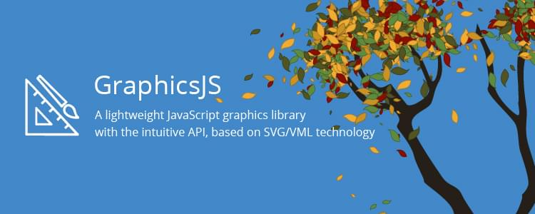 GraphicsJS, a lightweight and powerful SVG-based JavaScript graphics library by AnyChart