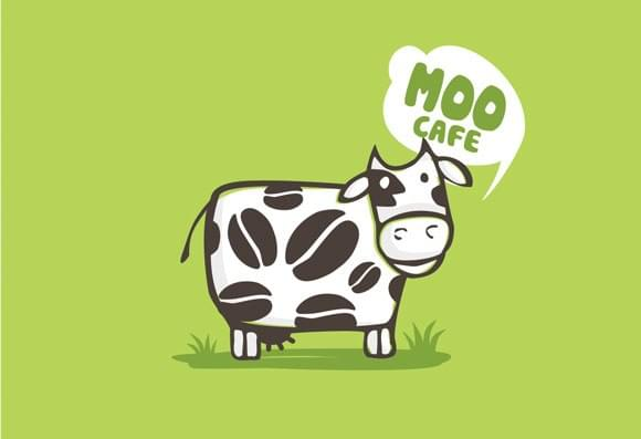 Logo design for Moo Cafe