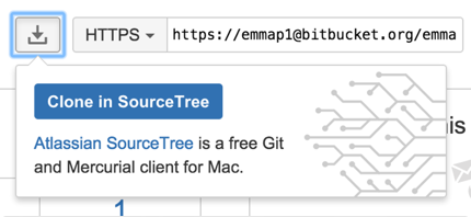 Clone in SourceTree