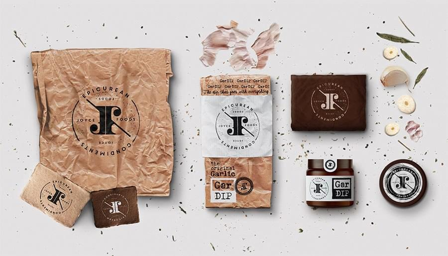Brand identity for Joyce Foods