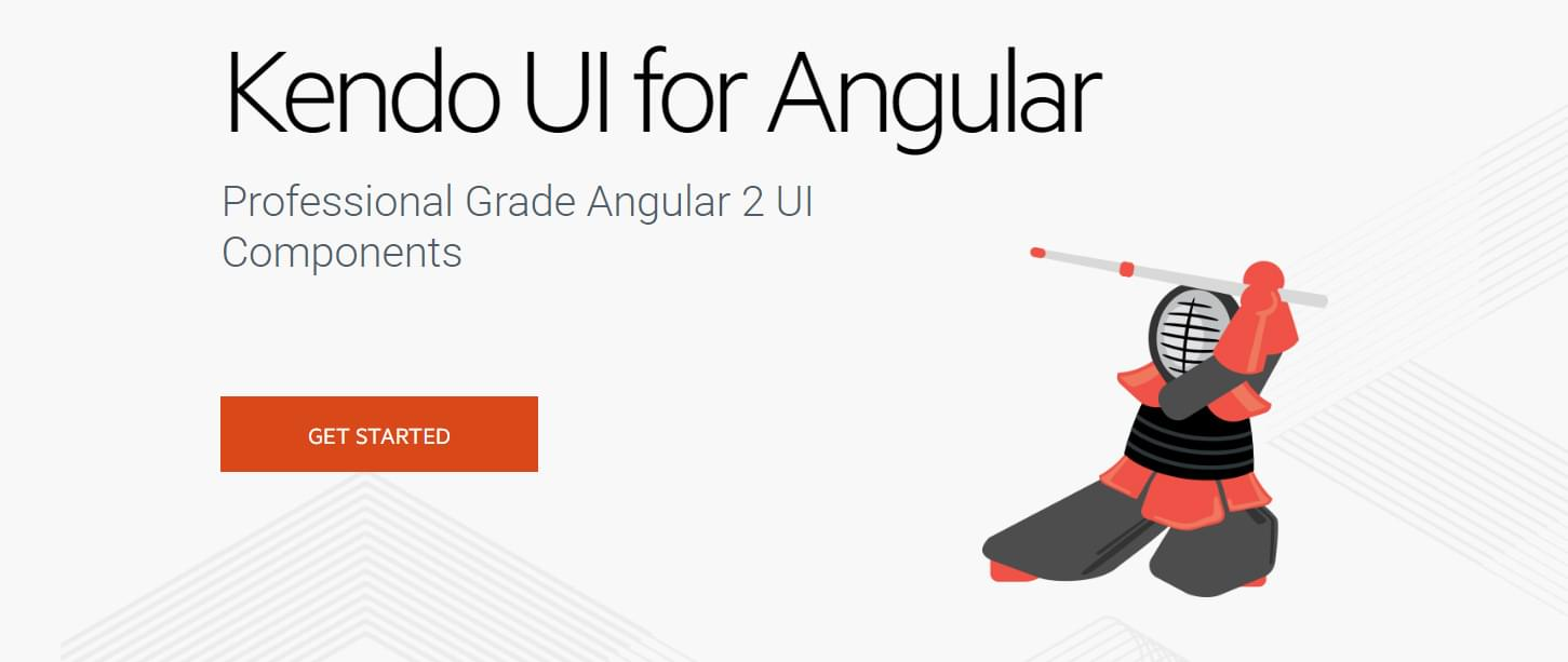 Kendo UI Angular sample image