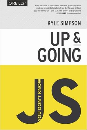 2. Best Book for Learning JavaScript - You Don't Know JS