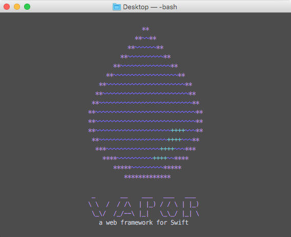Screenshot of the Vapor Toolbox