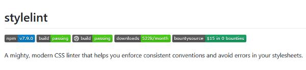 CSS performance tools: Stylelint