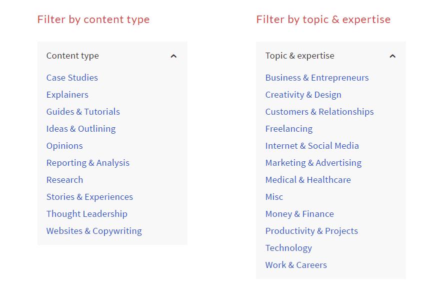 Organizing portfolio items