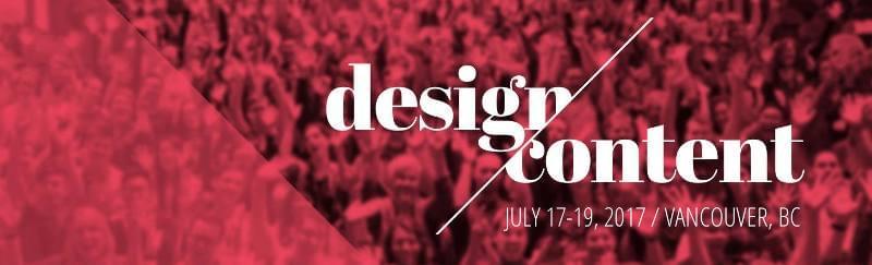 Design & Content Conference 2017