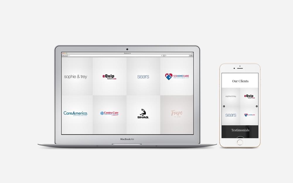 Galleries and sliders in mobile websites