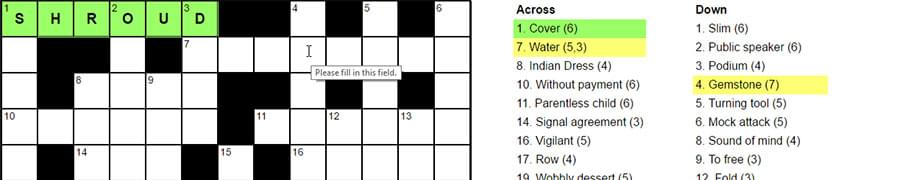 How I Built A Pure Css Crossword Puzzle Sitepoint