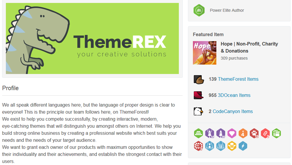ThemeRex Profile