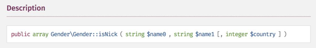 Wrong description of method return type