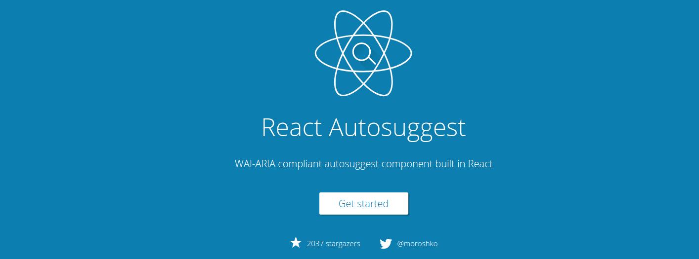 React Autosuggest
