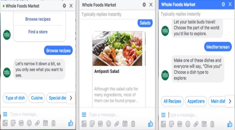 Conversational Chatbots with rich content cards