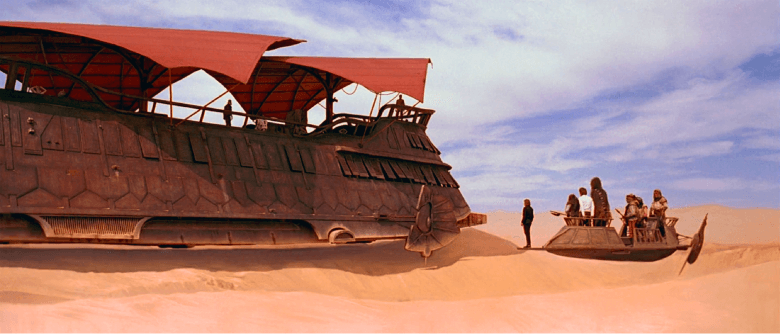 Jabba's barge