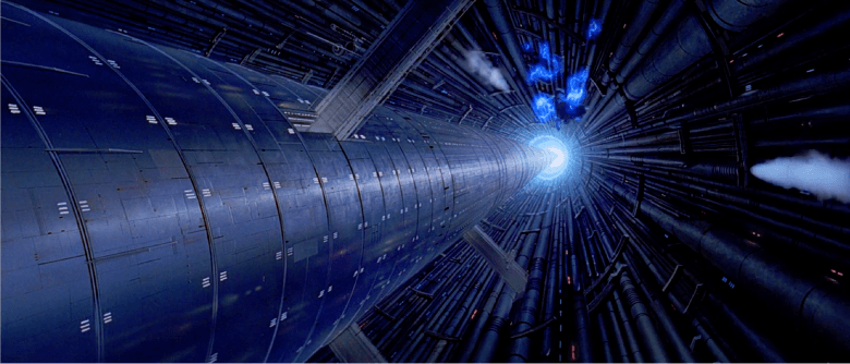 The death star core - matte painting