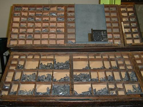 Printing press case