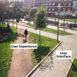 UI vs UX analogies