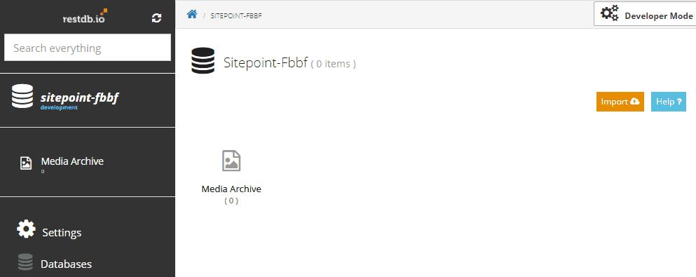 enter developer mode