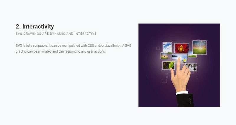 WebSlides Presentation Demo: Slide 8