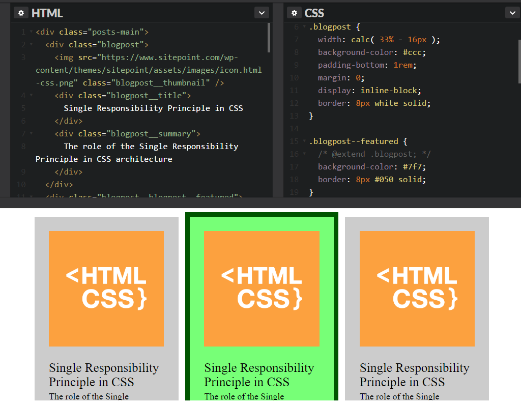 CSS Architecture image