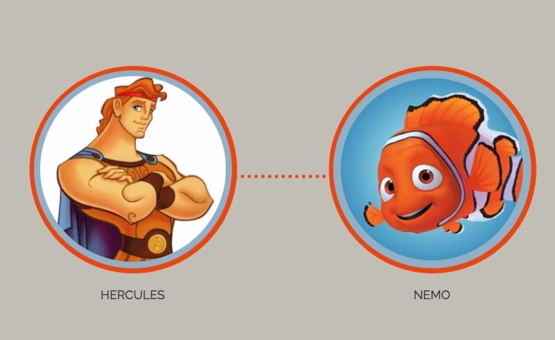Hercules and Nemo
