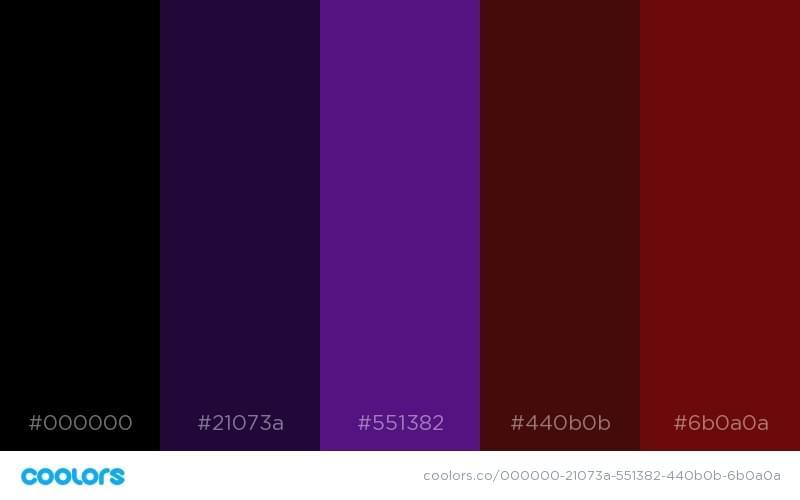 Dark Past Color Scheme 2