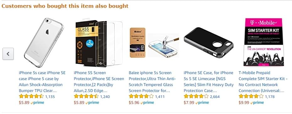 Amazon's recommendation engine