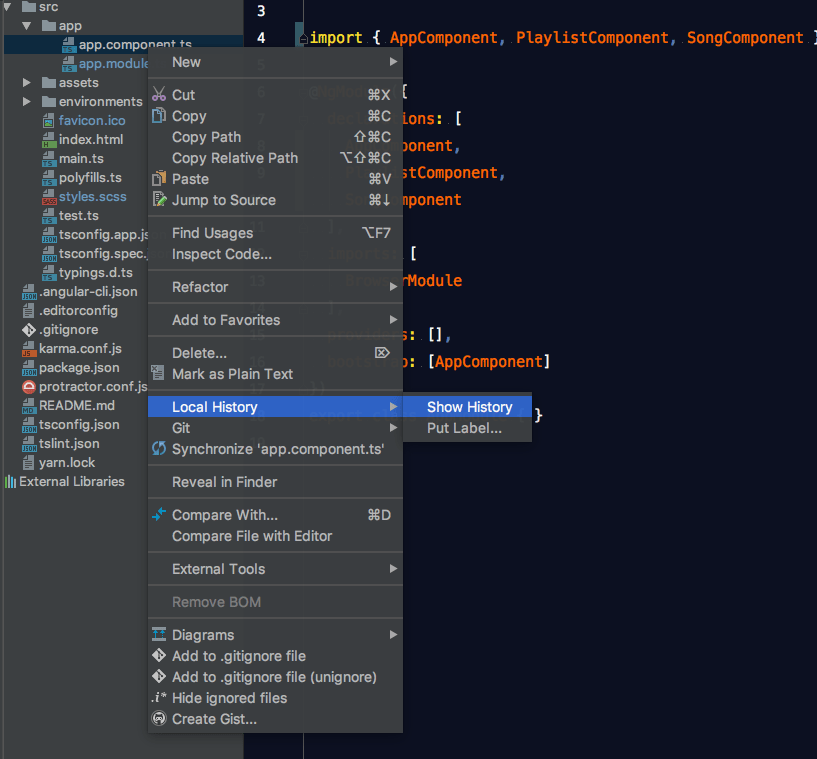 WebStorm and Angular: Travel Through Time