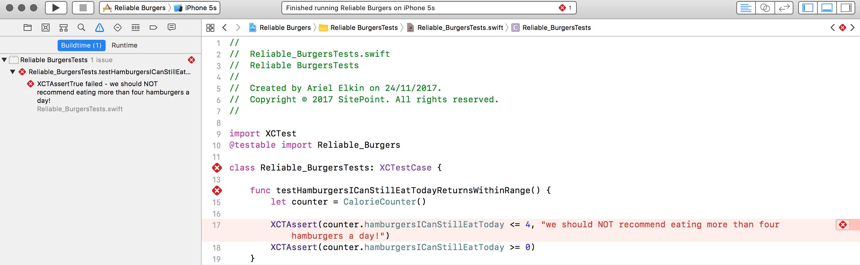 testHamburgersICanStillEatTodayReturnsWithinRange fails