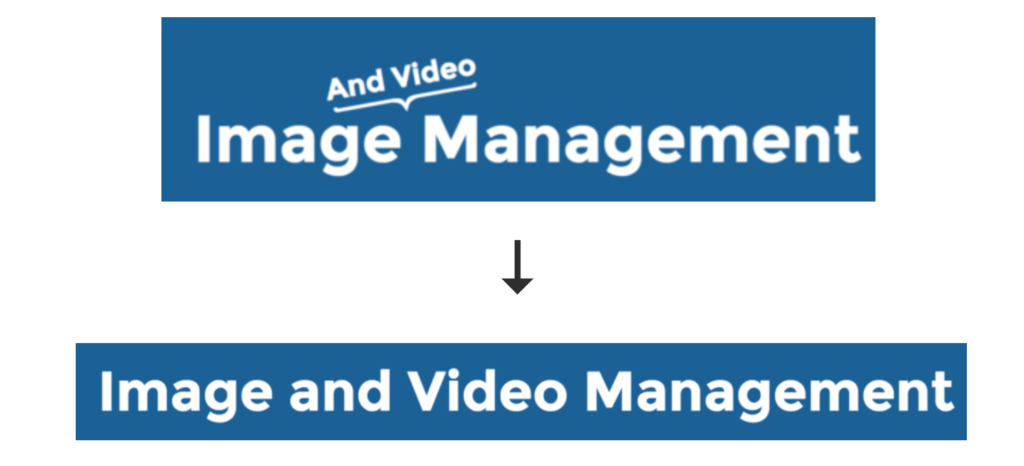 Cloudinary image and video management