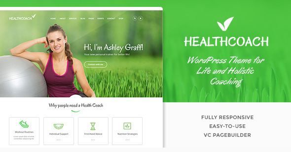 Health Coach from StyleMixThemes